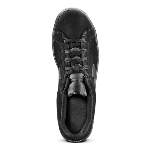 Sneakers Nike da uomo in suede nike, nero, 803-6302 - 15