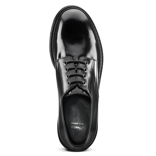 Scarpe stringate da uomo bata, nero, 824-6144 - 15