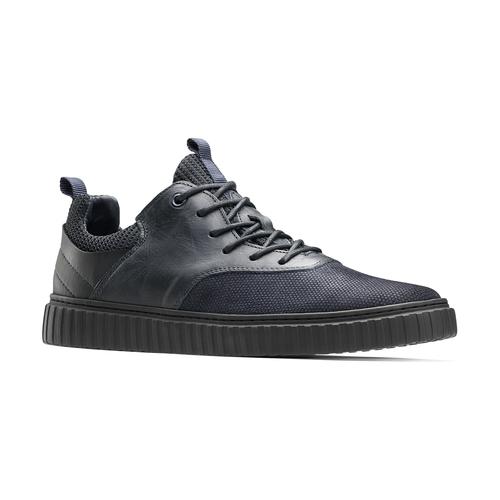 Sneakers con lacci da uomo bata, blu, 843-9119 - 13