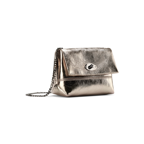 Mini-bag oro con catena bata, oro, 964-8839 - 13