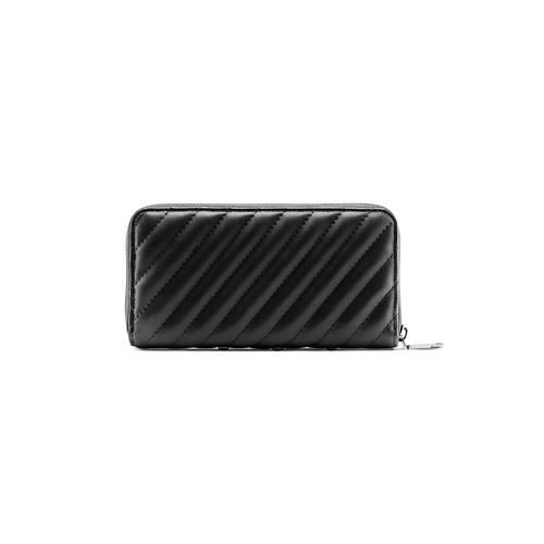 Portafoglio nero con strass bata, nero, 941-6163 - 26