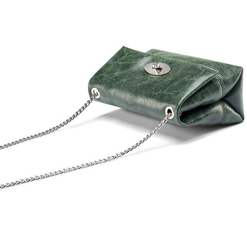 Mini-bag a tracolla bata, verde, 964-7739 - 17