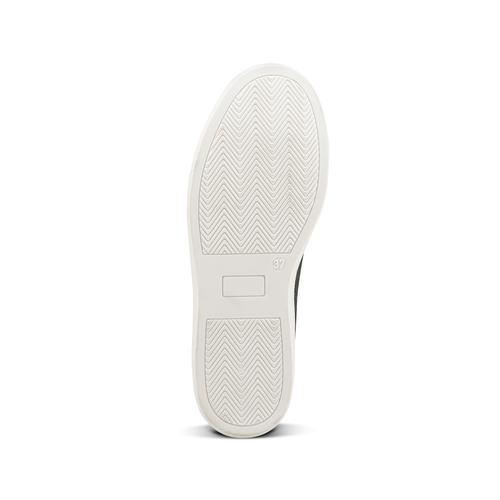 Sneakers metallizzate con lacci in raso north-star, bianco, 543-1359 - 17
