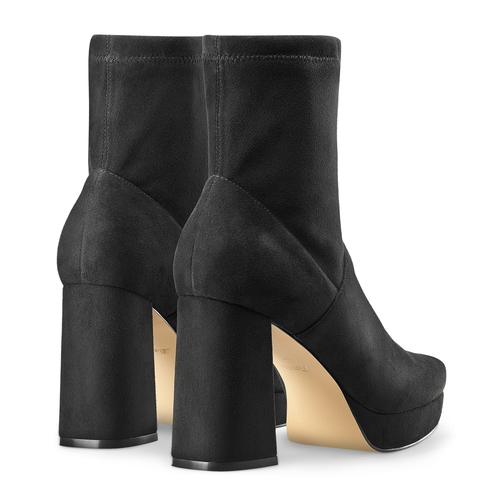Ankle boots tacco largo bata, nero, 799-6664 - 19