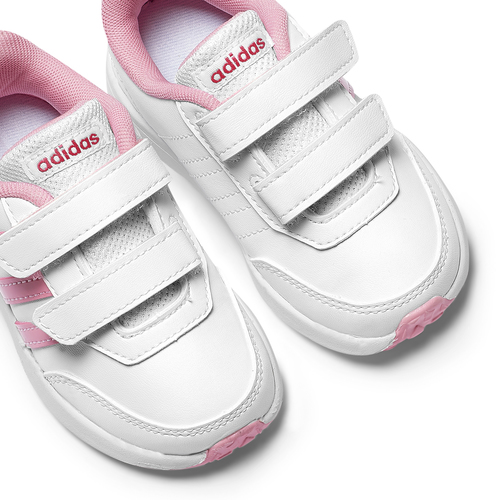 Scarpe Adidas bambina adidas, bianco, rosa, 109-1189 - 19