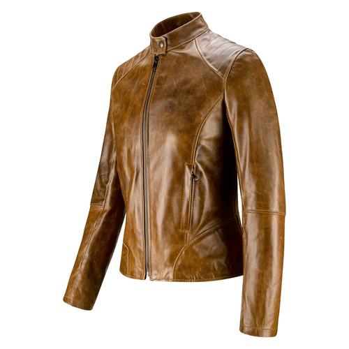 Giacca da donna Made in Italy bata, marrone, 974-3101 - 16