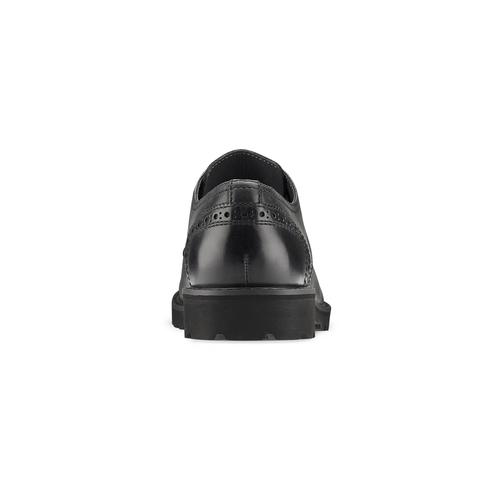Scarpe derby in pelle bata-light, nero, 824-6977 - 16
