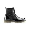 Ankle boots con strass mini-b, nero, 391-6402 - 26