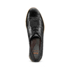 Stringate Flexible in pelle flexible, nero, 524-6174 - 17