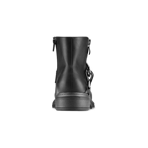 Stivaletti alla caviglia con ganci bata, nero, 591-6155 - 16
