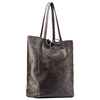 Shopper in Vera Pelle bata, marrone, 964-4122 - 13