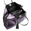 Shopper con borsello removibile bata, viola, 961-5200 - 16