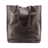 Shopper in Vera Pelle bata, marrone, 964-4122 - 26