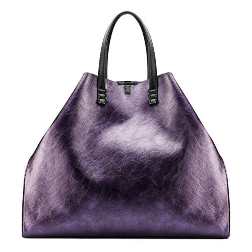 Shopper con borsello removibile bata, viola, 961-5200 - 26