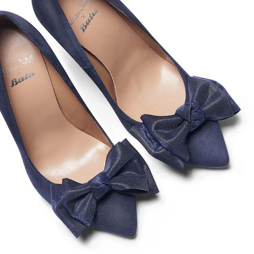 Décolleté Melissa Satta Capsule Collection, blu, 723-9149 - 19