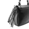 Borsa da donna espandibile con zip bata, nero, 961-6171 - 17