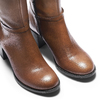 Stivali marroni da donna bata, marrone, 694-3361 - 15