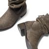 Stivaletti scamosciati bata, marrone, 593-4102 - 19