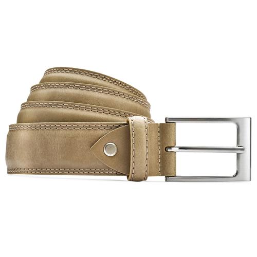 Cintura elegante da uomo bata, beige, 954-8828 - 13