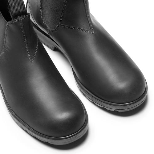 Chelsea Boots in pelle bata, nero, 894-6740 - 15