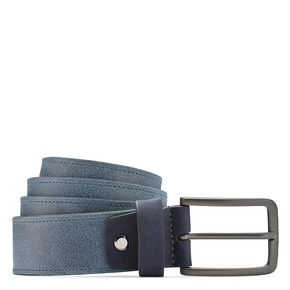 Cintura uomo con fibbia bata, blu, 954-9109 - 13