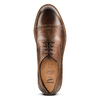Stringate uomo marroni con decorazioni Brogue bata-light, marrone, 824-4977 - 17