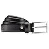 Cintura nera in pelle bata, nero, 954-6230 - 13