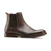 Chelsea Boots in pelle da uomo bata, marrone, 894-4152 - 13