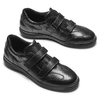 Sneakers da uomo in pelle flexible, nero, 844-6110 - 19