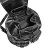 Zaino nero con borchie bata, nero, 961-6150 - 16
