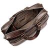 Borsa da ufficio in vera pelle bata, marrone, 964-4106 - 16