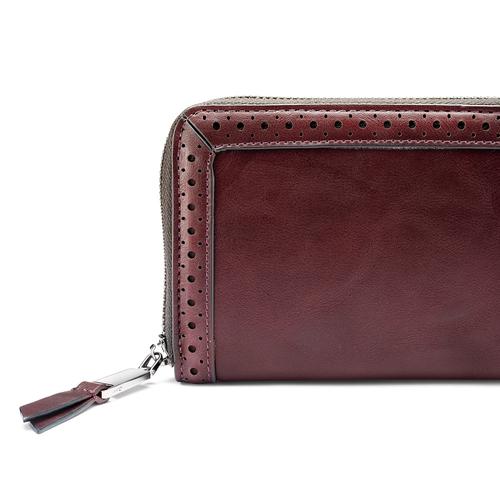 Portafoglio da donna in similpelle bata, rosso, 941-5159 - 15