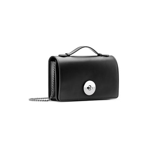Pochette nera in pelle bata, nero, 964-6241 - 13