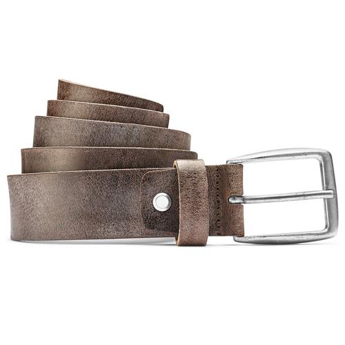 Cintura in pelle marrone bata, marrone, 954-4108 - 13