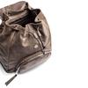 Zaino da donna con coulisse bata, marrone, 961-4189 - 17
