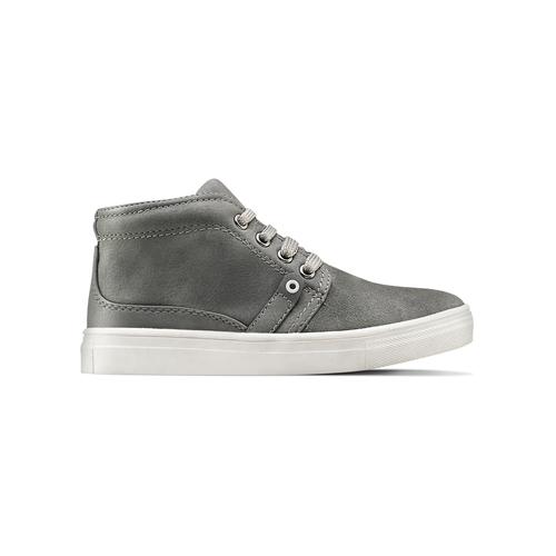 Sneakers alte da bimbo mini-b, grigio, 311-2279 - 26