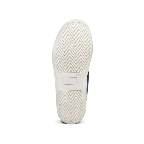 Scarpe alla caviglia da bambino mini-b, blu, 311-9279 - 17