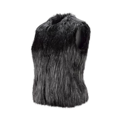 Gilet ecopelliccia bata, nero, 979-6175 - 16