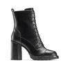 Stivali con lacci da donna bata, nero, 791-6177 - 13