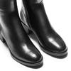 Stivali alti da donna in pelle bata, nero, 694-6436 - 15