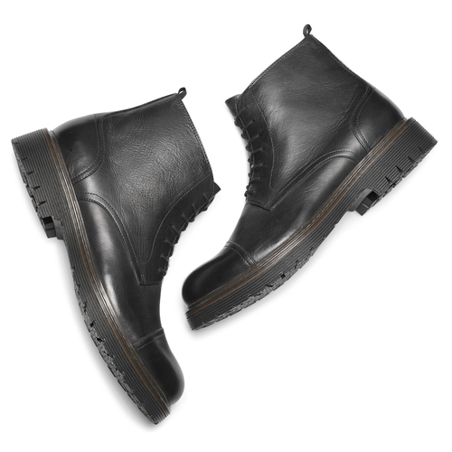 Combat boots da uomo bata, nero, 894-6728 - 19