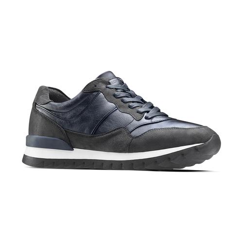 Sneakers casual da uomo north-star, blu, 841-9738 - 13