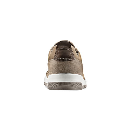 Scarpe uomo con lacci bata, marrone, 846-4105 - 16