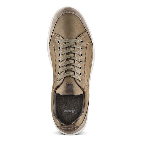 Scarpe uomo con lacci bata, marrone, 846-4105 - 15