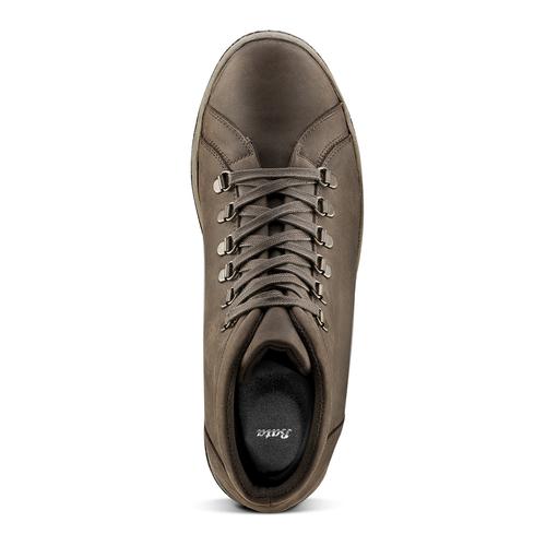 Sneakers da uomo in pelle bata, marrone, 844-4116 - 15