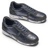 Sneakers da uomo con logo north-star, blu, 841-9737 - 19