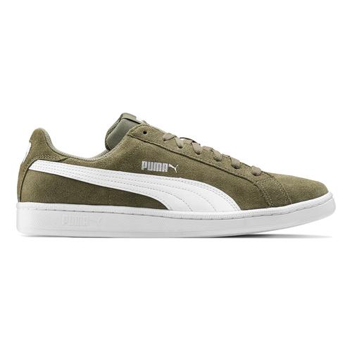 Sneakers Puma in suede puma, verde, 803-7312 - 26