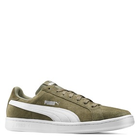 Sneakers Puma in suede puma, verde, 803-7312 - 13