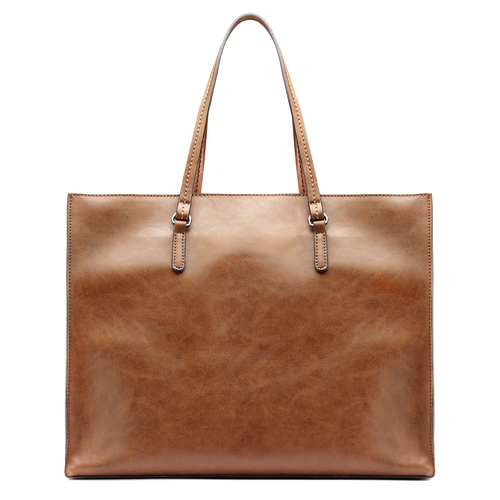 Shopper da donna in similpelle bata, marrone, 961-3163 - 26