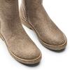 Stivali donna con ecopelliccia bata, beige, 599-2994 - 15